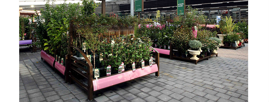 Nursery Retail Display Units Ideal For Garden Centres Diy Or Commercial Growing